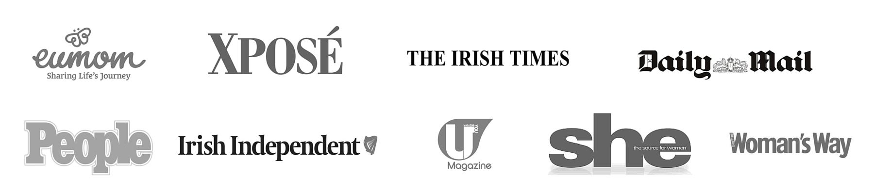All B&W logos V2